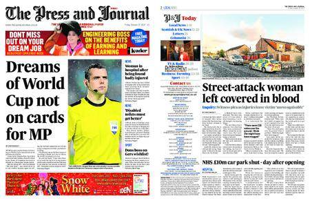 The Press and Journal Moray – October 27, 2017