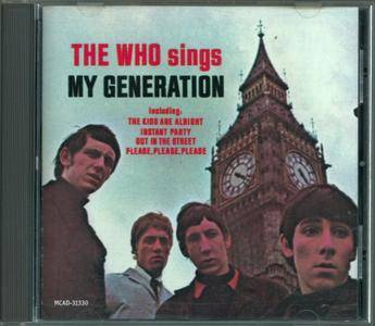 The Who - The Who Sings My Generation (1966)