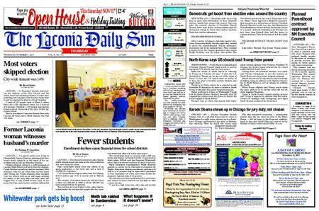 The Laconia Daily Sun – November 09, 2017