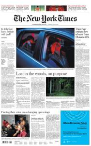 International New York Times - 23 July 2019