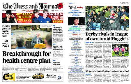 The Press and Journal Moray – November 09, 2017