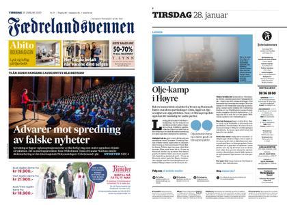 Fædrelandsvennen – 28. januar 2020