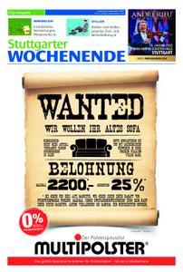 Stuttgarter Wochenende - City-Ausgabe - 28. September 2019