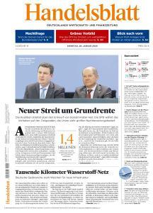 Handelsblatt - 28 Januar 2020