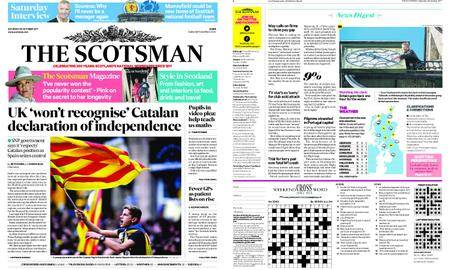 The Scotsman – October 28, 2017
