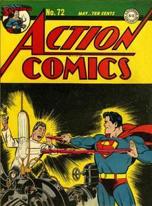 Action Comics 72 (DC) (1944-05) (c2c) (A.S.S.)