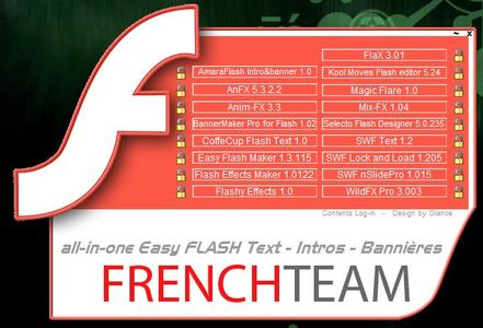 All In One Easy Flash Text - Intro - Banners