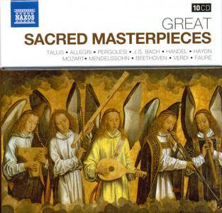 VA - Naxos 25th Anniversary: Great Sacred Masterpieces (2012) (10 CD Box Set)