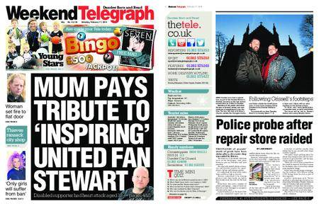 Evening Telegraph First Edition – February 17, 2018