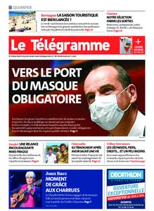 Le Télégramme Quimper – 14 juillet 2020