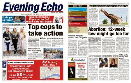 Evening Echo – January 11, 2018