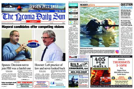 The Laconia Daily Sun – August 22, 2019