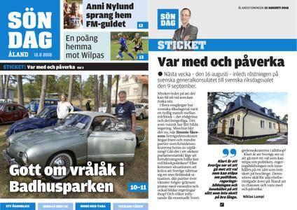 Ålandstidningen – 12 augusti 2018