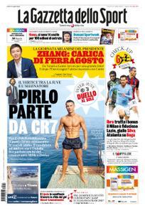 La Gazzetta dello Sport Roma – 14 agosto 2020