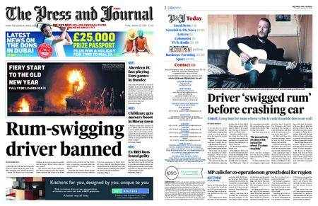The Press and Journal Moray – January 12, 2018
