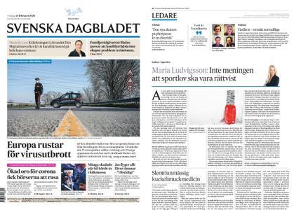 Svenska Dagbladet – 25 februari 2020
