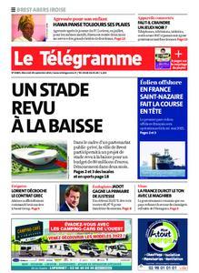 Le Télégramme Brest Abers Iroise – 29 septembre 2021