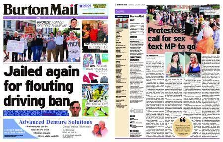 Burton Mail – August 13, 2018