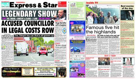 Express and Star Sandwell Edition – September 15, 2017
