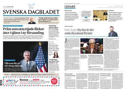 Svenska Dagbladet – 14 mars 2018