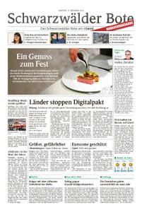 Schwarzwälder Bote St. Georgen, Triberg, Furtwangen - 15. Dezember 2018