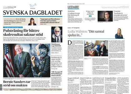 Svenska Dagbladet – 20 februari 2019