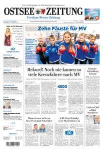Ostsee Zeitung Wolgast - 12. Oktober 2017