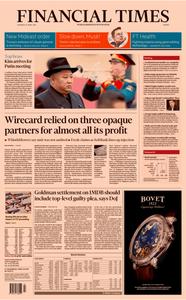Financial Times Europe – 25 April 2019