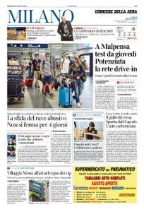 Corriere della Sera Milano – 18 agosto 2020