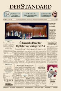 Der Standard – 31. Juli 2019