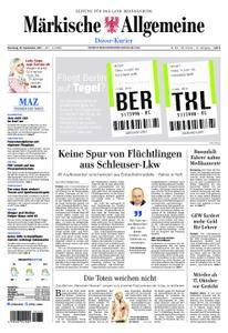 Märkische Allgemeine Dosse Kurier - 19. September 2017
