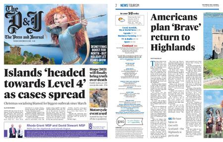The Press and Journal Moray – December 29, 2020
