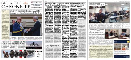 Gibraltar Chronicle – 26 May 2021