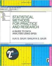 Statistical Methods for Practice and Research: A Guide to Data Analysis Using SPSS (Response Books) [Repost]