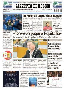 Gazzetta di Reggio - 23 Febbraio 2018