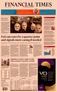 Financial Times Europe – 01 August 2019