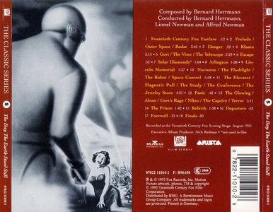 Bernard Herrmann - The Day The Earth Stood Still: Original Film Score (1951) [The Classic Series, Remastered Reissue 1993]