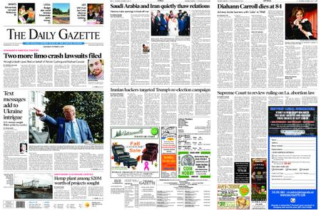 The Daily Gazette – October 05, 2019