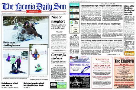 The Laconia Daily Sun – December 27, 2017
