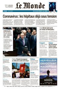 Le Monde du Dimanche 1er et Lundi 2 Mars 2020