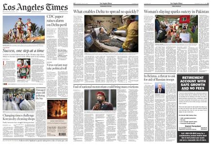 Los Angeles Times – July 31, 2021