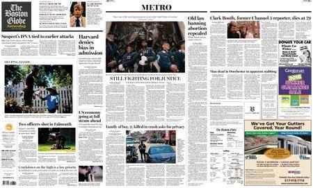 The Boston Globe – July 28, 2018