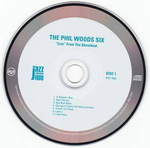 "The Phil Woods Six - ""Live"" From The Showboat (1976) {2CD 2014 Japan Jazz Collection 1000 Columbia-RCA Series SICP 3992~3}"