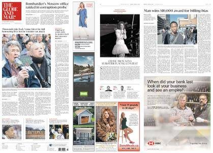 The Globe and Mail – April 30, 2018