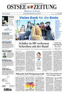 Ostsee Zeitung Rügen - 07. Oktober 2019