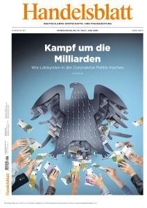 Handelsblatt - 29 Mai - 1 Juni 2020