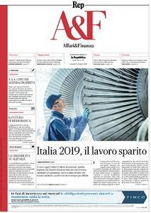 la Repubblica Affari & Finanza - 7 Ottobre 2019