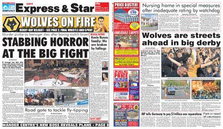 Express and Star City Edition – October 16, 2017