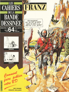 Les Cahiers de la BD - Tome 64 - Franz
