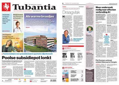 Tubantia - Enschede – 22 september 2017